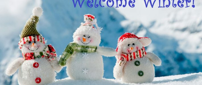 Welcome Winters in style!