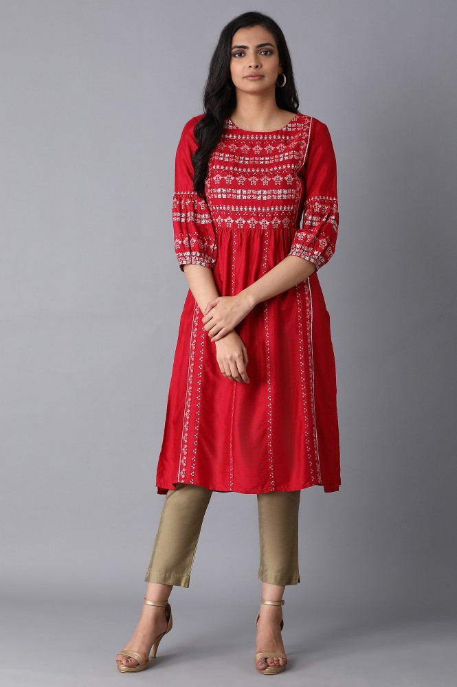 Embroidered Kurta for Ethnic Look